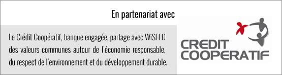 Partenariat WiSEED et Crédit Coopératif
