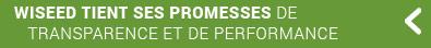 WiSEED tient ses promesses de transparence et de performance